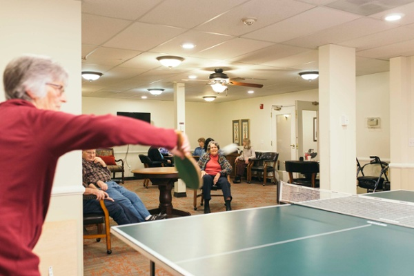 Independent Living Ping Pong Tournament